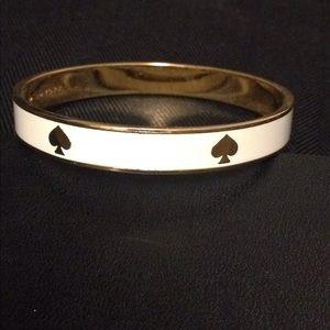Kate Spade gold cream bracelet